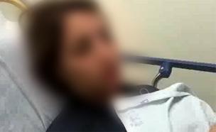 המורה מדברת בבית החולים (צילום: רפעת עכר)
