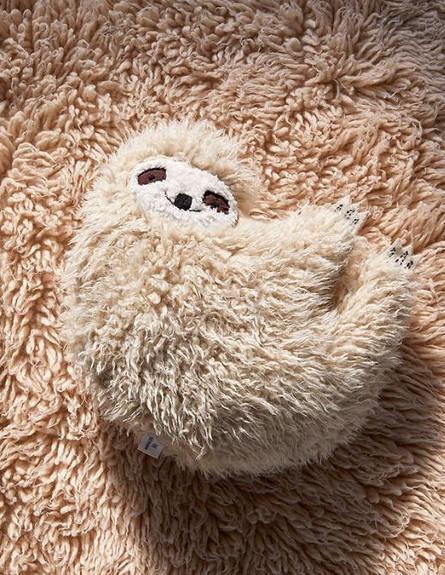 לקראת החורף, כרית עצלן (צילום: יחסי ציבור)