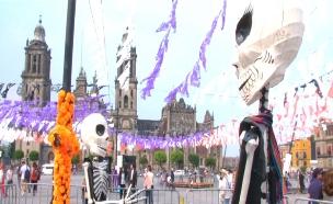 כך נראה פסטיבל יום המתים במקסיקו (צילום: רויטרס)