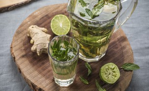 תה דיטוקס (צילום: אפיק גבאי, מתכון לחיסכון)