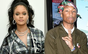 ריהאנה, פארל וויליאמס (צילום: getty images)