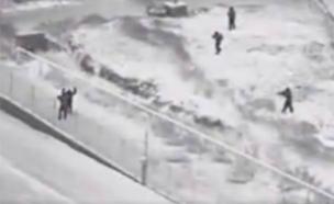 צפו בתיעוד הדרמטי (צילום: דוברות המשטרה)