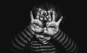 ילד מפחיד האלווין (צילום:  Photo by Flash90)