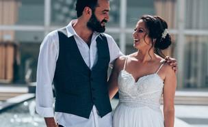 אלבום חתונה רלי ואלעד (צילום: אסף תמם, פרטי)