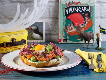 ארוחת בוקר סקנדינבית