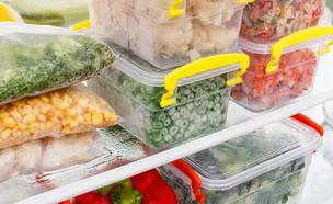 ירקות קפואים במקפיא (אילוסטרציה: kateafter | Shutterstock.com )