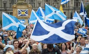 משאל עם בסקוטלנד על עצמאותה (צילום: רויטרס)