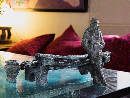 בית אילנה גור, פסל