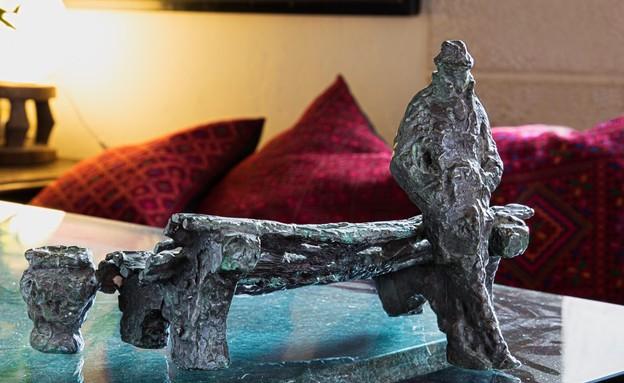 בית אילנה גור, פסל (צילום: שוקי קוק)