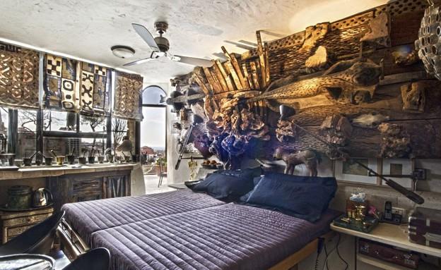 בית אילנה גור, שינה (צילום: שוקי קוק)