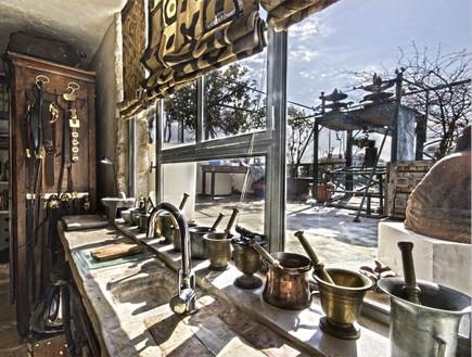 בית אילנה גור, מטבח