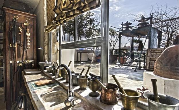 בית אילנה גור, מטבח (צילום: שוקי קוק)