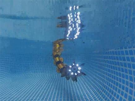 גם דג רובוטי משמש בשדה הקרב