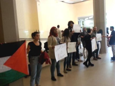 ההפגנה בקמפוס