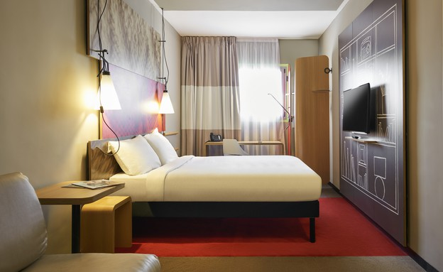 מלון איביס ירושלים (צילום: אסף פיננצ'וק, יחסי ציבור)
