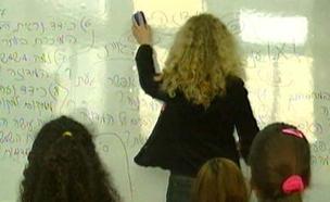 מורה כיתה לוח. צילום אילוסטרציה (צילום: חדשות 2)