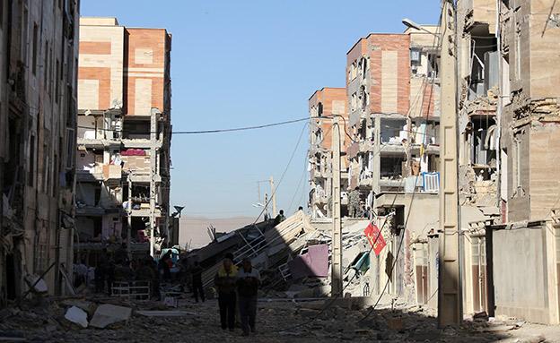 רעידת אדמה, אירן (צילום: רויטרס)