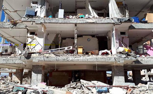 ההרס באירן (צילום: IRNA)