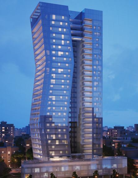 מגדל ארלוזורוב 17 בתל אביב (צילום: סטודיו אייקו)