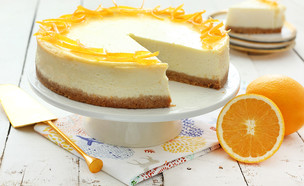 עוגת גבינת שמנת והדרים (צילום: ענבל לביא, אוכל טוב)