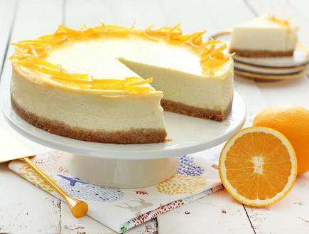 עוגת גבינת שמנת והדרים