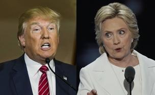 """שיחקרו אותה"". טראמפ וקלינטון (צילום: רויטרס)"