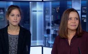 """המתלוננת על אונס: """"איימו עליי בתביעה"""" (צילום: מתוך """"חדשות הבוקר"""" , קשת 12)"""