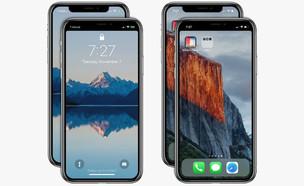 אפליקציה שמתקנת את אייפון X (עיבוד: Axiem Systems, iTunes App Store)