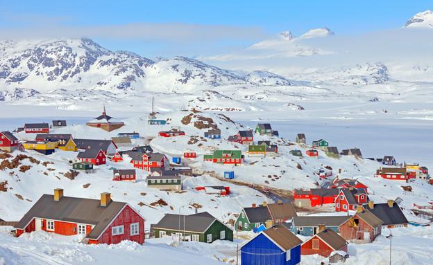 לטייל בגרינלנד (צילום: icarmen13, shutterstock)