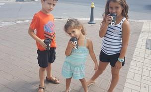 אלה ואוהד אלמליח (צילום: ענבר גרושקה)