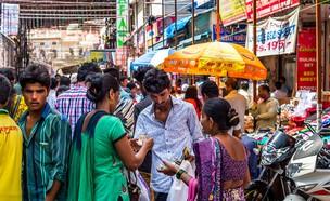 שוק בהודו (צילום: Boris_B, shutterstock)