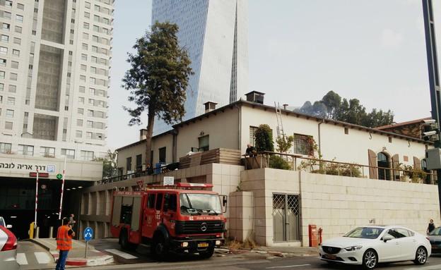 שריפה קלארו כיבוי אש (צילום: אוכל טוב)