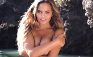כריסי טיגן (צילום: YouTube/Sports Illustrated Swimsuit)
