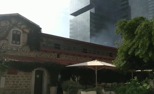 שריפה במסעדת קלארו (צילום:  none,  יחסי ציבור )
