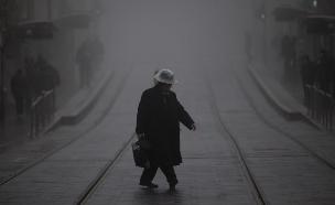 הגשם חוזר (צילום: פלאש 90 יהונתן סינדל)