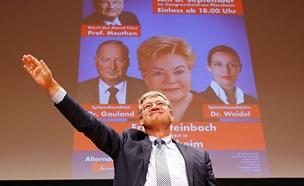 המרוויח הגדול? מנהיג אלטרנטיבה לגרמניה (צילום: רויטרס)