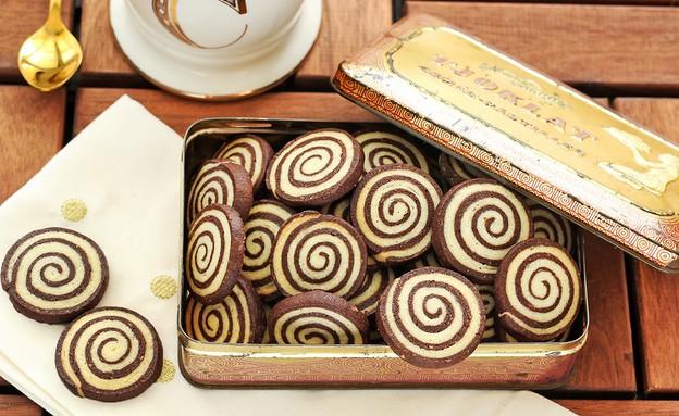 עוגיות ספירלה (צילום: ענבל לביא, אוכל טוב)