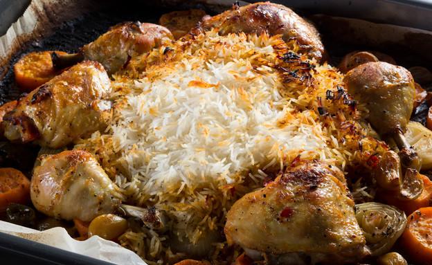 כרעיים עם אורז ובטטה בתנור (צילום: בני גם זו לטובה, סיפורים מהמטבח)