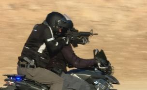 צפו: האופנועונים שיילחמו בטרור (צילום: החדשות)