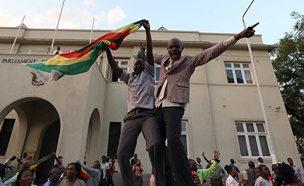 עידן חדש בזימבבואה (צילום: רויטרס)