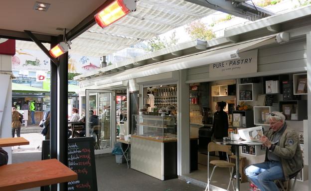 שוק האוכל ב-Carlsplatz (צילום: לירון מילשטיין)