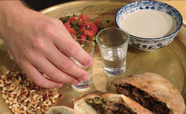 תבשיל בשר וסלט מרוקאי (צילום: מתוך