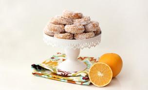 עוגיות יויו קוקוס ותפוזים  (צילום: ענבל לביא, מימונ'ס)
