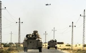 צבא מצרים בסיני (צילום: רויטרס)