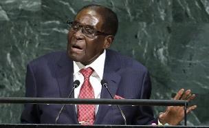 הנשיא המודח, רוברט מוגאבה (צילום: רויטרס)