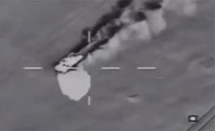 תקיפות צבא מצרים בתגובה לפיגוע בסיני (צילום: חדשות 2)