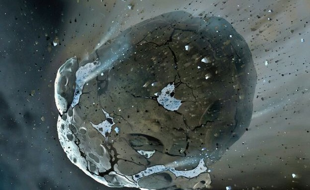 אסטרואיד (צילום: Facebook)