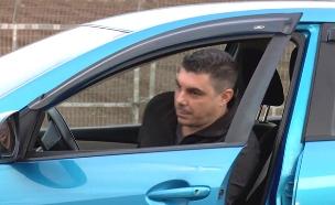 שוטר קילל ואיים, הנהג הועמד לדין (צילום: החדשות)