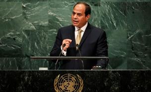"א-סיסי באו""ם. פועל נגד הארגון (צילום: רויטרס)"