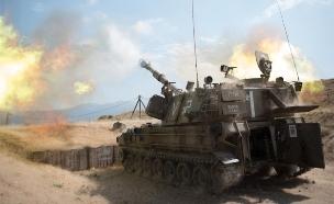"""עלייה במוטיבציה, חיל התותחנים (ארכיון) (צילום: דו""""צ)"""